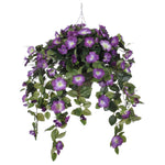 Artificial Petunia Hanging Basket - House of Silk Flowers®  - 4