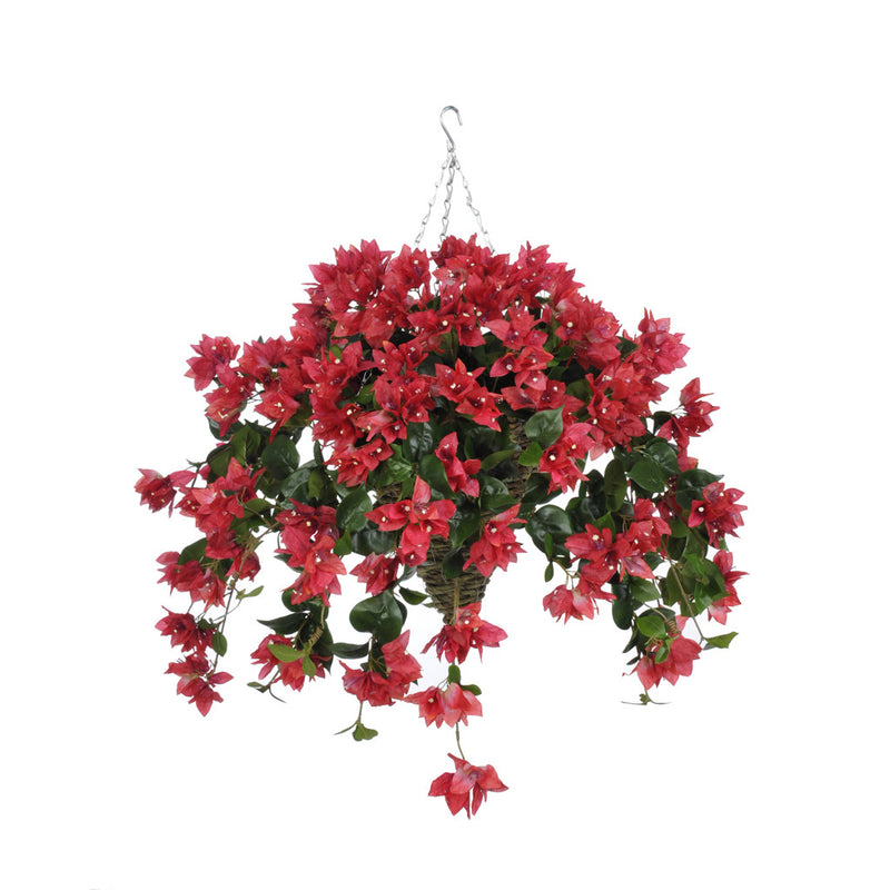 Artificial Bougainvillea Hanging Basket - House of Silk Flowers®  - 4