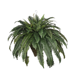 Artificial Fern Hanging Basket - House of Silk Flowers®  - 2