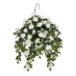 Artificial Petunia Hanging Basket - House of Silk Flowers®  - 2