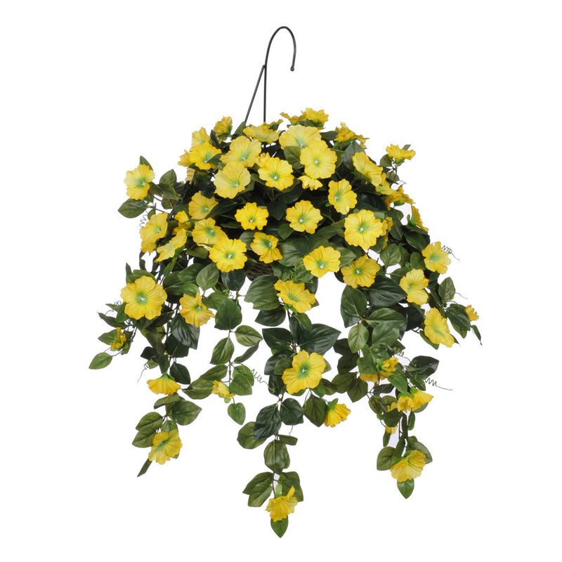 Artificial Petunia Hanging Basket - House of Silk Flowers®  - 3