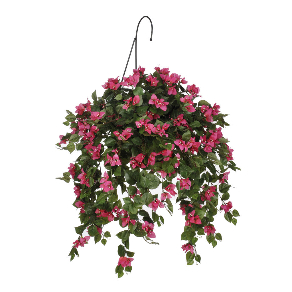 Artificial Mini Bougainvillea Hanging Basket House Of