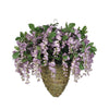 Artificial Wisteria Hanging Basket - House of Silk Flowers®  - 11
