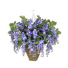 Artificial Wisteria Hanging Basket - House of Silk Flowers®  - 16