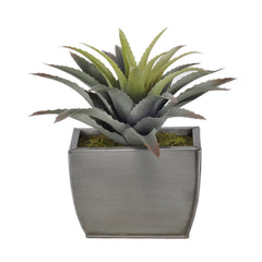 Artificial Star Succulent in Planter - House of Silk Flowers®  - 2