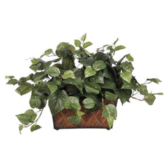Artificial Pothos in Mini Ledge - House of Silk Flowers®