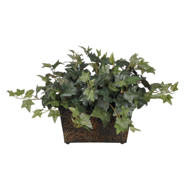 Artificial English Ivy in Mini Ledge