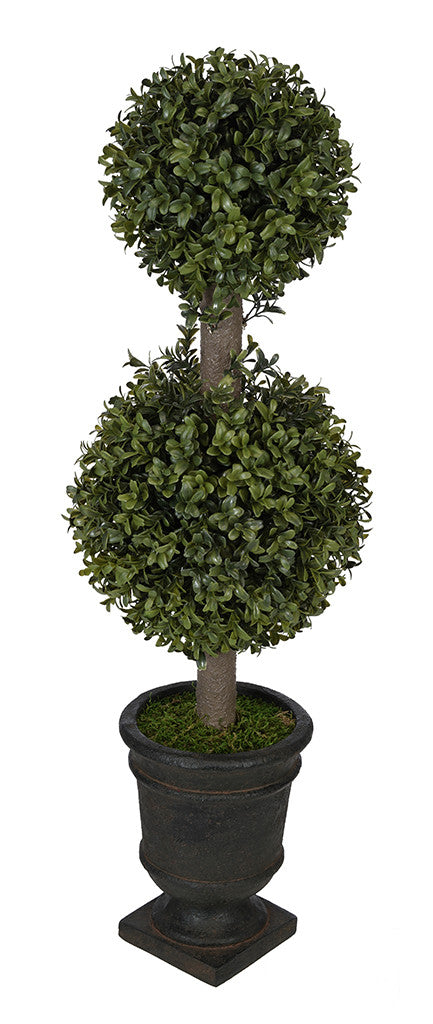 Artificial 2' Double Ball Topiary in Pot - House of Silk Flowers®  - 16