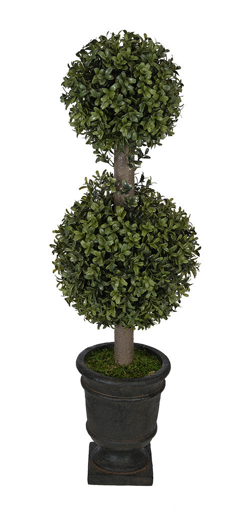 Artificial 2' Double Ball Topiary in Pot - House of Silk Flowers®  - 17