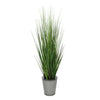 44-inch Grass in Round Zinc House of Silk Flowers®