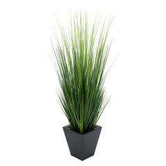 44-inch Grass Black Square Zinc
