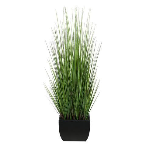 Artificial 44-inch Grass in Large Rectangle Zinc