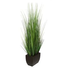 44-inch Grass in Large Rectangle Zinc House of Silk Flowers®