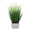 27-inch Grass in Small Farmhouse Rectangle Zinc House of Silk Flowers®