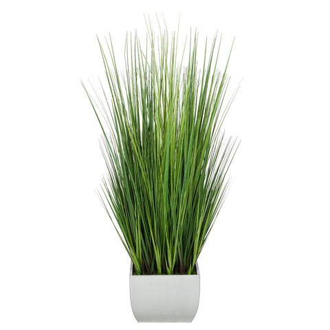 Artificial 50-inch Grass in X-Large Rectangle Zinc