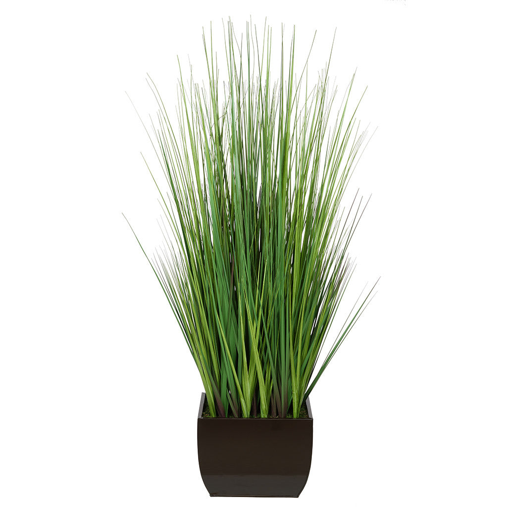 50-inch Grass in X-Large Rectangle Zinc House of Silk Flowers®