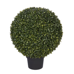 14-inch Boxwood Ball Topiary House of Silk Flowers ®