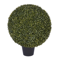 18-inch Boxwood Ball Topiary House of Silk Flowers ®