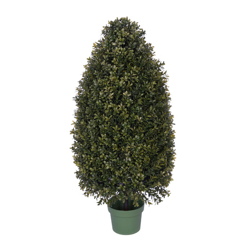 "32"" Boxwood Tower Topiary House of Silk Flowers®"