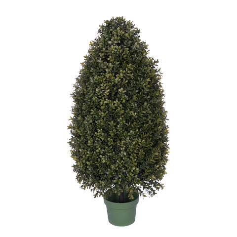 Artificial Boxwood Tower Topiary