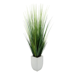 45-inch Grass in Cream Tapered Zinc