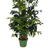 Faux 8ft Fishtail Palm Tree in Zinc Planter