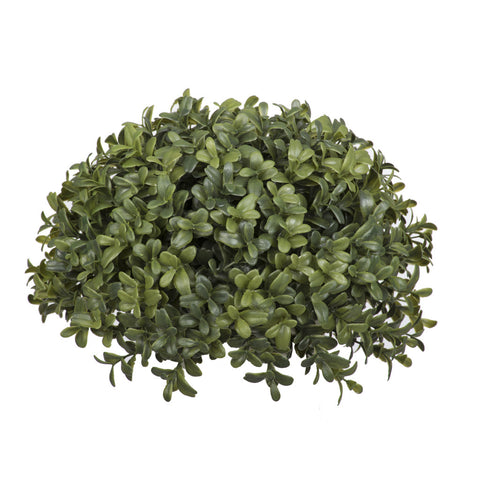 Artificial Boxwood Half Ball