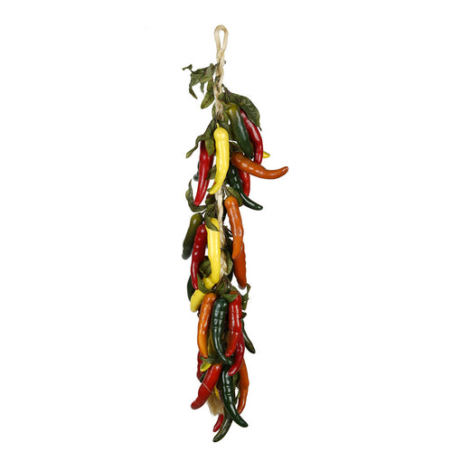 Multi-Color Artificial Chili Pepper Swag