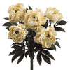 "Artificial 21.5"" Peony Bush - House of Silk Flowers®  - 1"