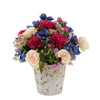 Shabby Chic® Berry Crush Mixed Flowers in Distressed Ceramic