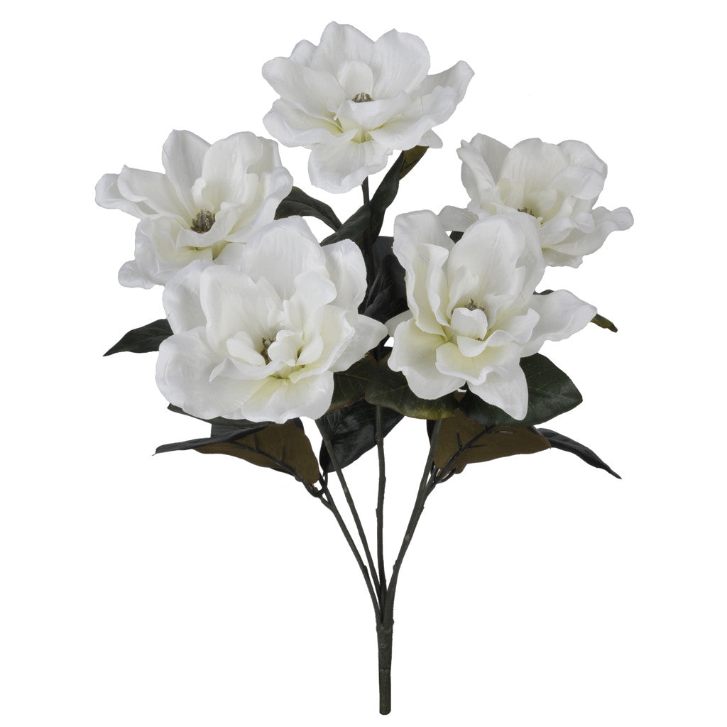 "Artificial 21"" Magnolia Bush - House of Silk Flowers®  - 3"
