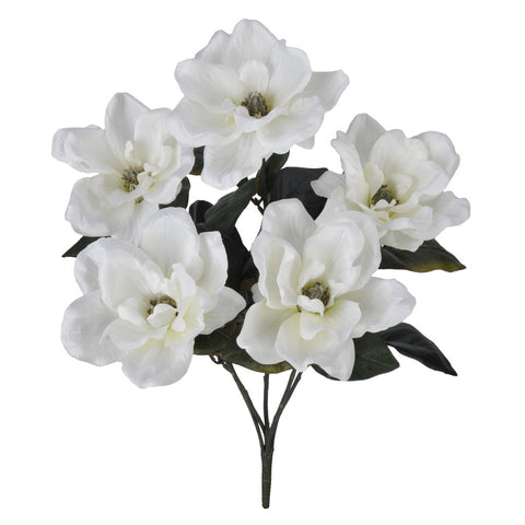 "Artificial 21"" Magnolia Bush - House of Silk Flowers®  - 4"