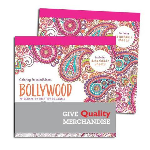 Imprinted Bollywood Coloring Book