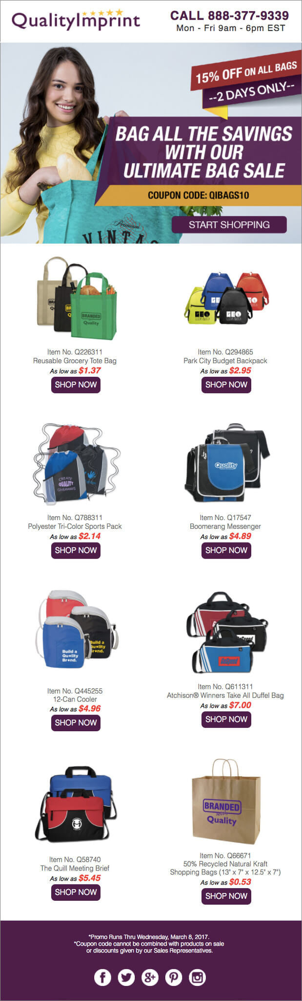 BAG ALL THE SAVINGS WITH OUR ULTIMATE BAG SALE!