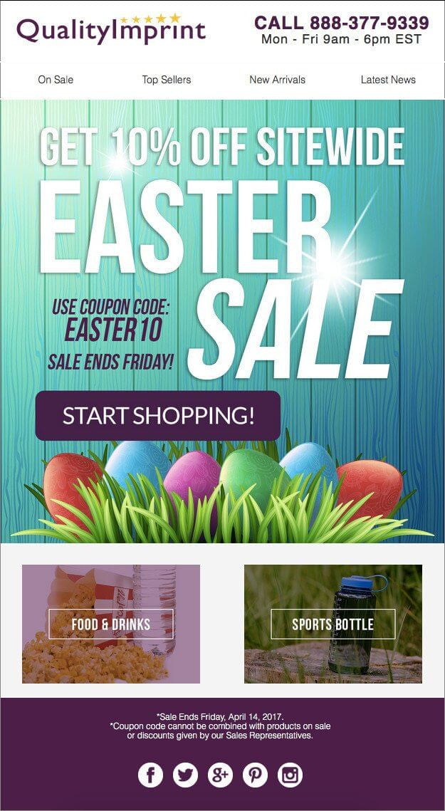 EASTER SALE JUST STARTED - 10% OFF