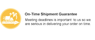 QualityImprint - On-Time Shipment Guarantee