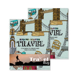 Inspired Coloring (Travel) Coloring Books  Imprinted with Logo (Q631311)