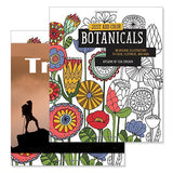 Just Add Color (Botanicals) Coloring Books  Imprinted with Logo (Q831311)