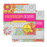 Kaleidoscope Designs Artist's Coloring Book  Imprinted with Logo (Q931311)