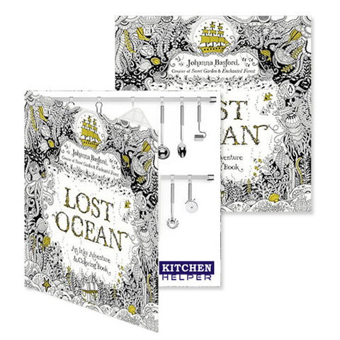 Lost Ocean (An Inky Adventure And Coloring Book) - Promotional Adult Coloring  Books - Q341311