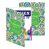 Posh Adult Coloring Book  Imprinted with Logo (Q141311)