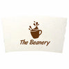 Custom White Coffee Cup Sleeves (Q44450) -  - 1
