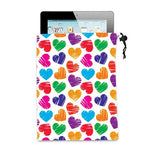 iPad/Tablet Microfiber Cloth Pouch  with Logo (Q121611)