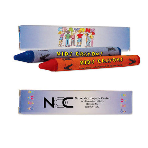 2 Pack Kids Wax Crayons (Q128411)