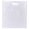 "Promotional White Patch Handle Bags 2.5mil (16"" x 18"") (Q16671) -  - 2"