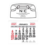 2020 Peel-N-Stick® Magnetic Phone Calendars  with Logo (Q174711)