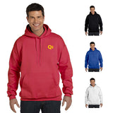 Hanes 9.7 oz. Ultimate Cotton® 90/10 Pullover Hood  with Logo (Q206465)