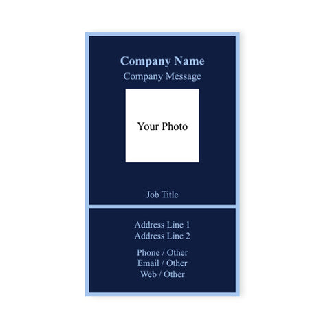 Vertical navy blue background business card magnet business card custom vertical navy blue background business card magnet q209311 1 colourmoves