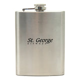 Promotional Stainless Steel Flasks (8 oz.) (Q210311) -  - 1