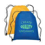Non-Woven Drawstring Sports Pack  with Logo (Q211245)